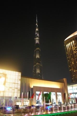 20141212_Dubai-Burj Khalifa bei Nacht