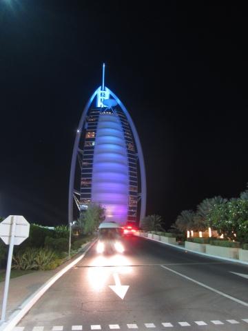 20141213_Dubai-Burj Al Arab bei Nacht