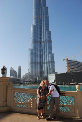 20141212_Dubai-Burj Khalifa Frank und Katja